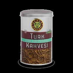 علبة قهوة تركية محمصة وسط 250 غرام قهوة دنياسي