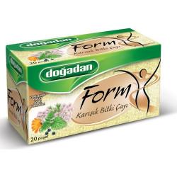 علبة شاي فورم الأعشاب المخلطة 20 كيس دوغادان