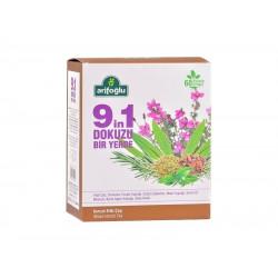 شاي الأعشاب 9 في 1، 1.8 جرام، 60 كيس شاي