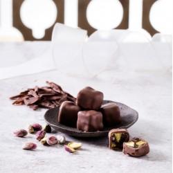 حلقوم  شوكولاتة وفستق