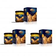 خلطة العسل والجنسنغ والغذاء الملكي وحبوب الطلع - 3 عبوات 200 غرام