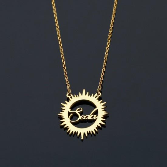 مجموعة سوار ملاك وقلادة شمس