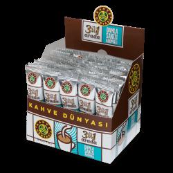 علبة قهوة بالمستكة بالسكر 40 ظرف قهوة دنياسي