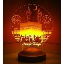 أفكار هدايا رمضان لمبة الكعبة 3d